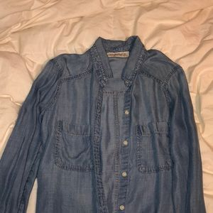 Abercrombie and Fitch denim cardigan